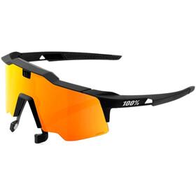 100% Speedcraft Air Glasses soft tact black
